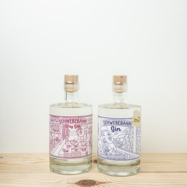 Schwebebahn Gin Set